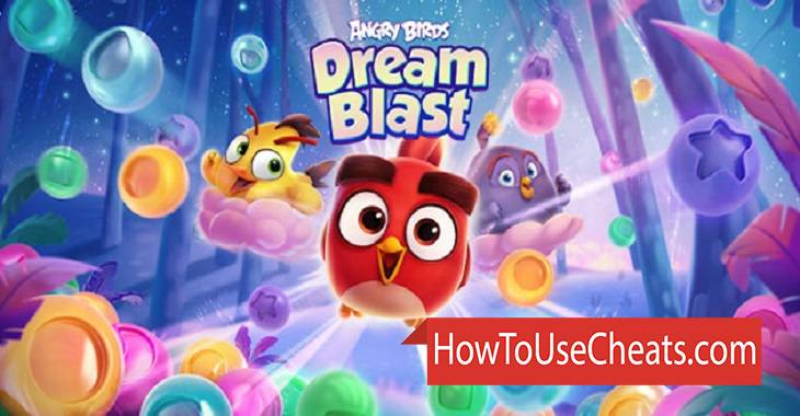 Angry Birds Dream Blast how to use Cheat Codes and Hack Coins and Energy