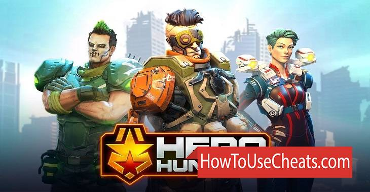 Hero Hunters how to use Cheat Codes and Hack Money, Coins and Gold