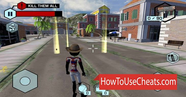 Stickman Street Gangs how to use Cheat Codes and Hack Money and Gems
