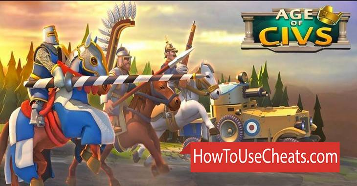 Age of Civs how to use Cheat Codes and Hack Gold and Gems