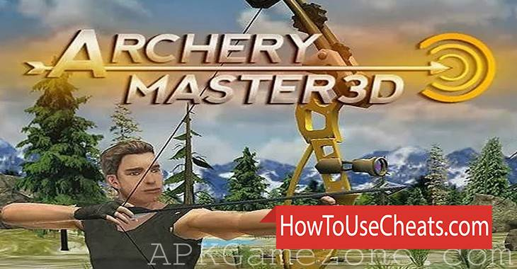 Archery Master 3D how to use Cheat Codes and Hack Coins and Experience