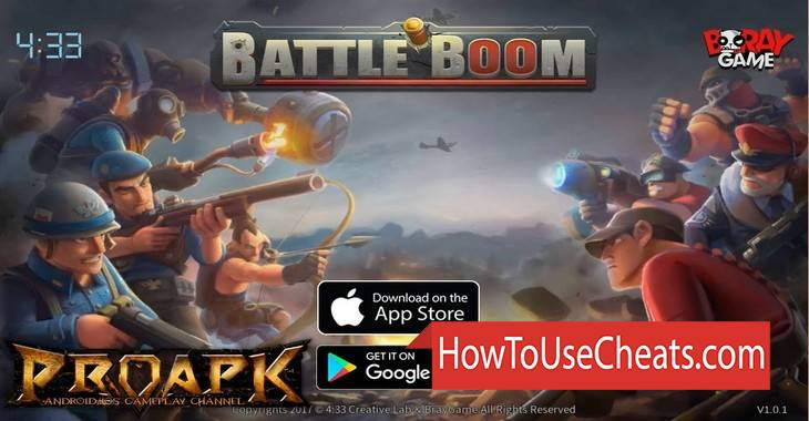 Battle Boom how to use Cheat Codes and Hack Coins and Diamonds
