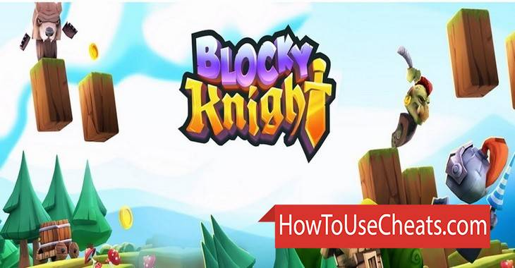 Blocky  Knight how to use Cheat Codes and Hack Gold and Experience