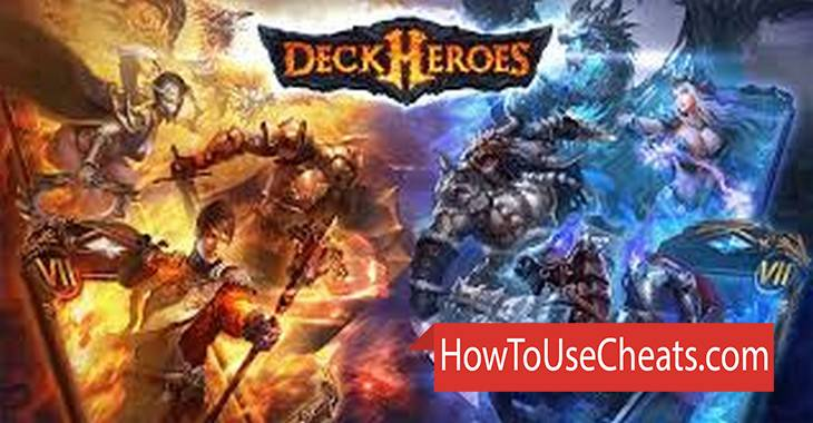 Deck Heroes how to use Cheat Codes and Hack Stars and Gems