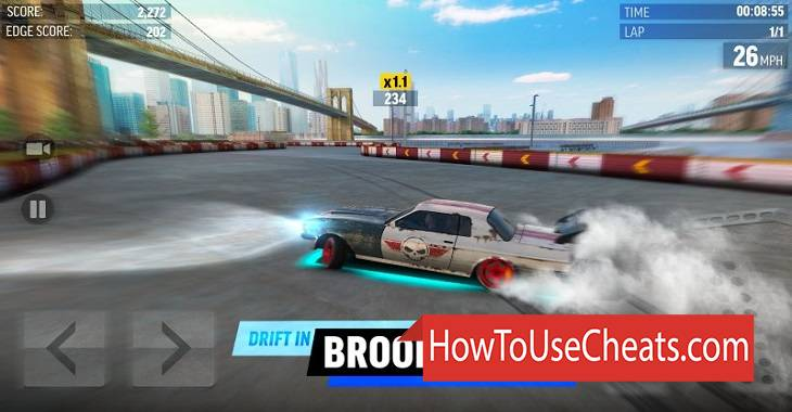 Drift Max World how to use Cheat Codes and Hack Money
