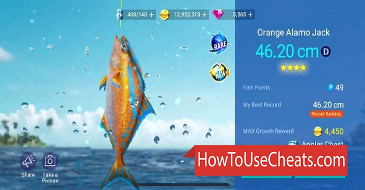Fishing Strike how to use Cheat Codes and Hack Stars and Skins