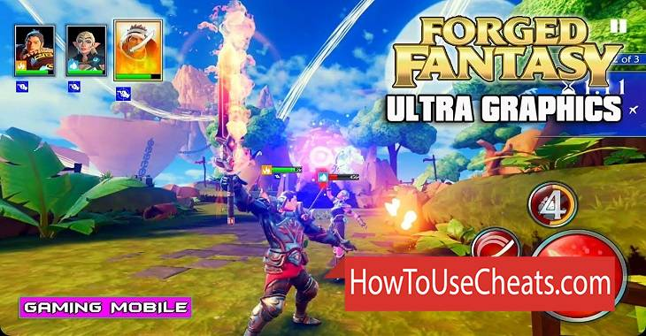 Forged Fantasy how to use Cheat Codes and Hack Coins and Gems