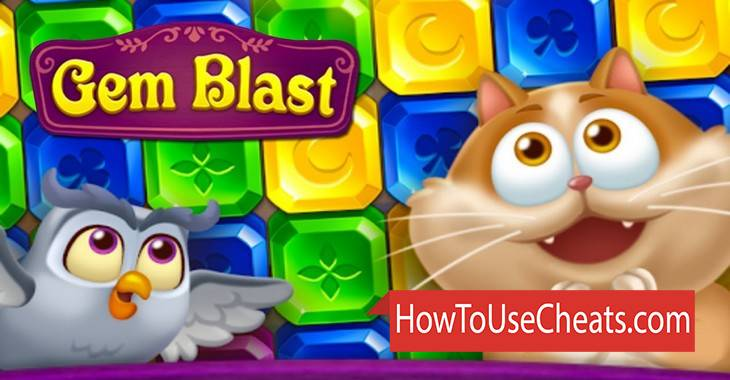 Gem Blast: Magic Match Puzzle how to use Cheat Codes and Hack Coins and Lives