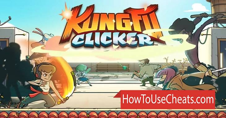 Kung Fu Clicker how to use Cheat Codes and Hack Gems and Gold