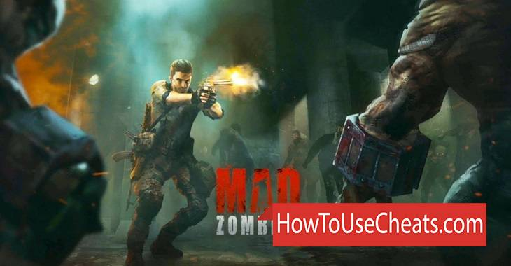 MAD ZOMBIES how to use Cheat Codes and Hack Gold, Energy and Money