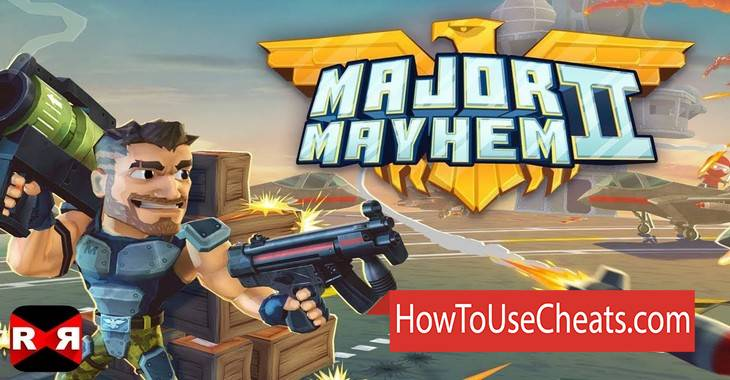 Major Mayhem 2 how to use Cheat Codes and Hack Coins