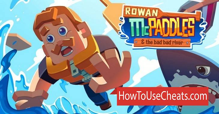 Rowan McPaddles how to use Cheat Codes and Hack Coins