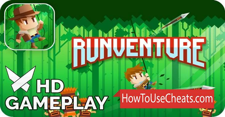 Runventure how to use Cheat Codes and Hack Coins