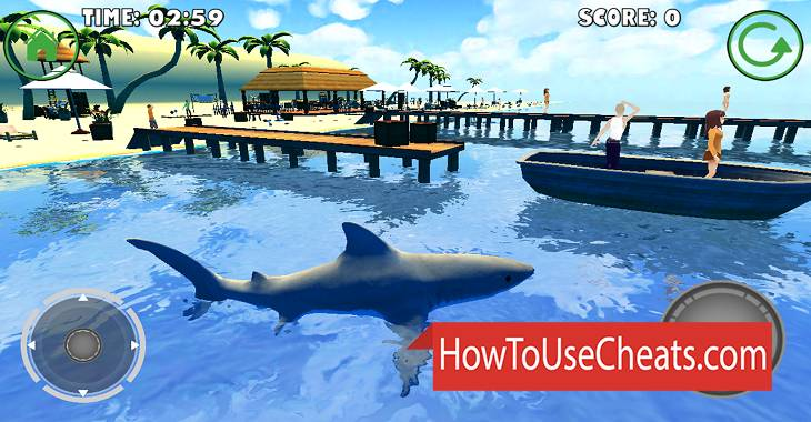 Shark Simulator how to use Cheat Codes and Hack Coins and Gems