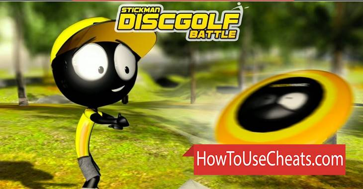 Stickman Disc Golf Battle how to use Cheat Codes and Hack Coins and Money