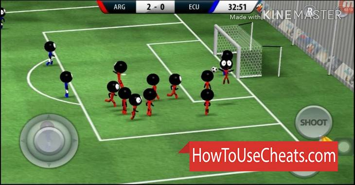 Stickman Soccer  2018 how to use Cheat Codes and Hack Coins and Money