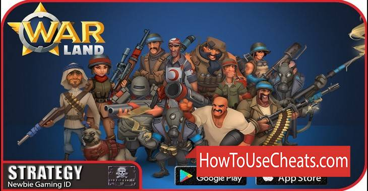 The Warland how to use Cheat Codes and Hack Gold and Keys