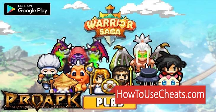 Warrior Saga how to use Cheat Codes and Hack Coins, Rubies and Coins