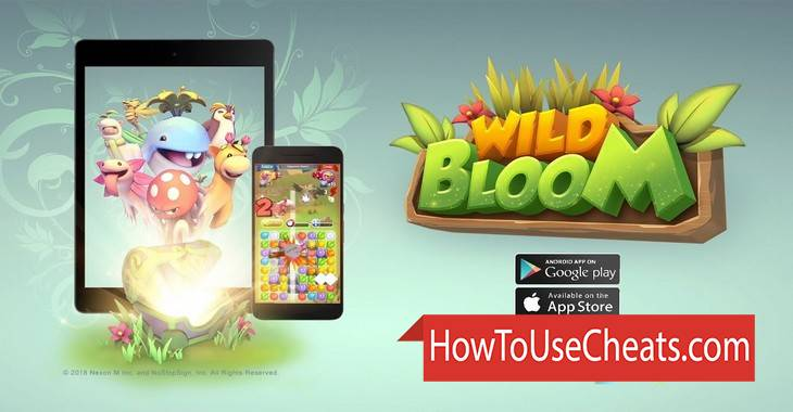 Wild Bloom how to use Cheat Codes and Hack Gems and Energy