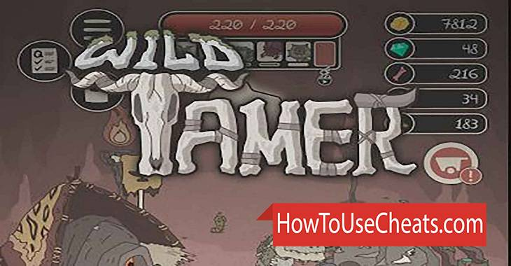 Wild Tamer how to use Cheat Codes and Hack Gold and Diamonds
