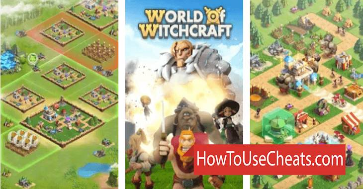 World of Witchcraft how to use Cheat Codes and Hack Gold and Gems