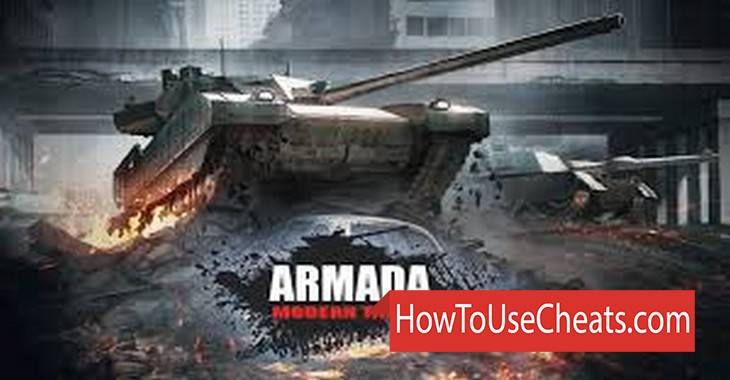Armada : World of Modern Tanks how to use Cheat Codes and Hack Gold and Silver