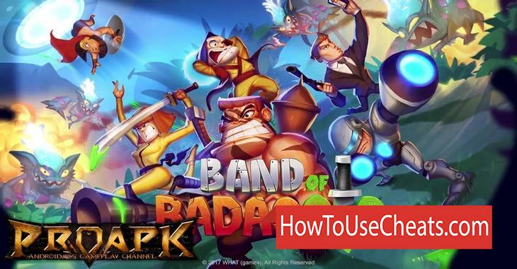 Band of Badasses: Run & Shoot how to use Cheat Codes and Hack Medailles and Boosters