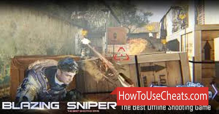 Blazing Sniper how to use Cheat Codes and Hack Money and Diamonds