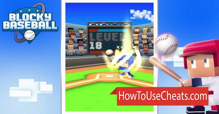 Blocky Baseball how to use Cheat Codes and Hack Medals and Gems