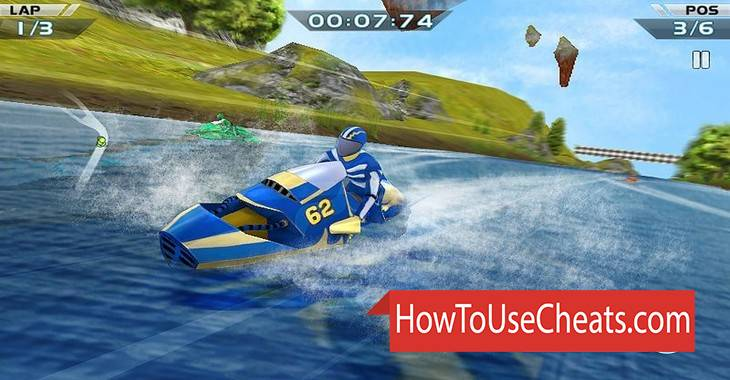 Boat Racing 3D how to use Cheat Codes and Hack Money and Fuel