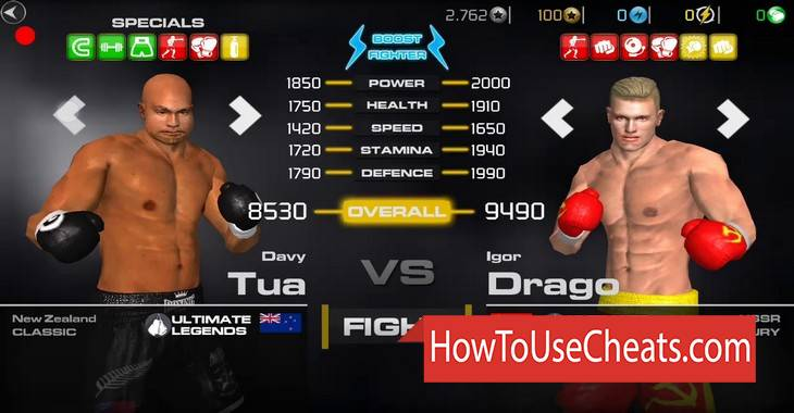 Boxing — Fighting Clash how to use Cheat Codes and Hack Gold and Energy
