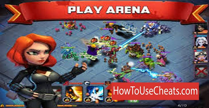 Clash of Zombies II how to use Cheat Codes and Hack Gems