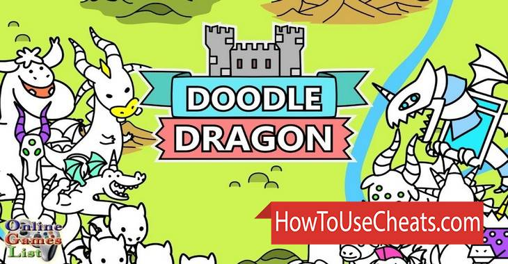Doodle Dragons - Dragon Warriors how to use Cheat Codes and Hack Coins