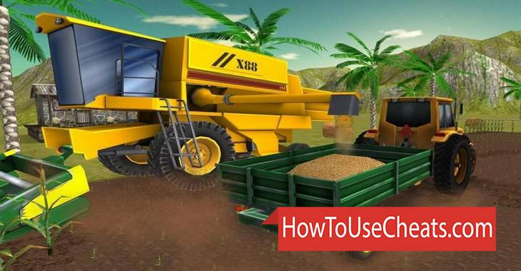 Farming Simulator 3D how to use Cheat Codes and Hack Gold and Money