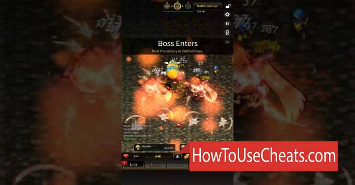 Fortune Quest Raid how to use Cheat Codes and Hack Coins and Gems