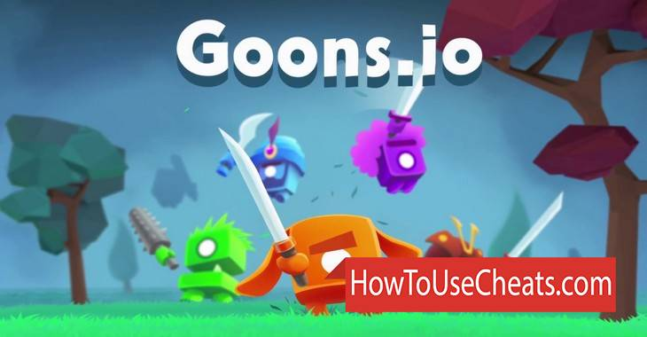 Goons.io Knight Warriors how to use Cheat Codes and Hack Money, Experience and Skins