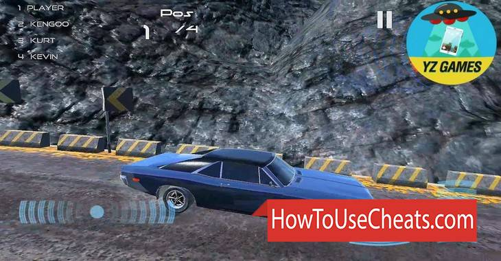 Legendary Muscle Car Race how to use Cheat Codes and Hack Money and Points