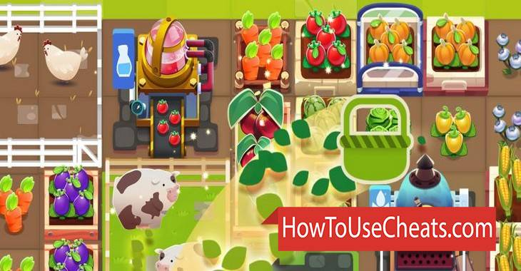 Merge Farm how to use Cheat Codes and Hack Coins and Boosters