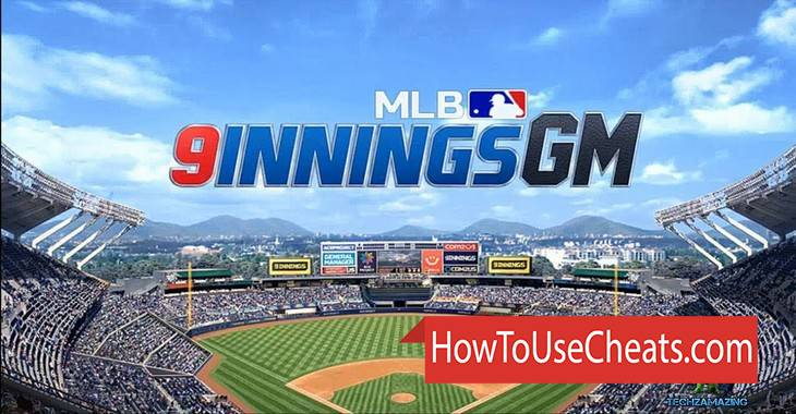 MLB 9 Innings GM how to use Cheat Codes and Hack Money and Energy