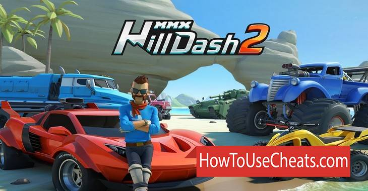 MMX Hill Dash 2 how to use Cheat Codes and Hack Coins and Gems