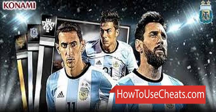 PES CARD COLLECTION how to use Cheat Codes and Hack Pounds and Coins
