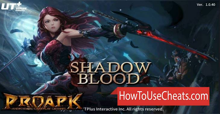 Shadowblood : SEA how to use Cheat Codes and Hack Gold, Energy and Diamonds