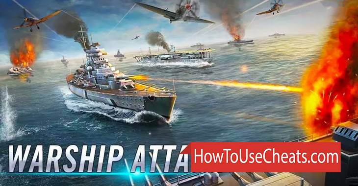 Warship Attack 3D how to use Cheat Codes and Hack Gold and Silver