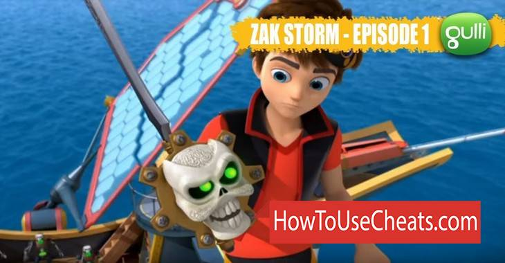 Zak Storm Super Pirate how to use Cheat Codes and Hack Gold and Diamonds