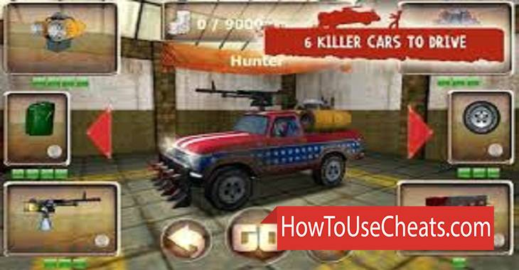 Zombie Derby 2 how to use Cheat Codes and Hack Coins