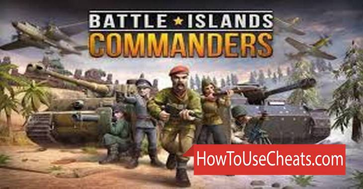 Battle Islands: Commanders how to use Cheat Codes and Hack Gold