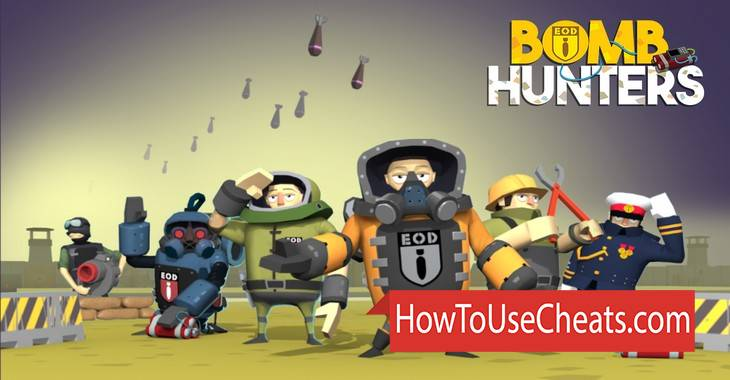 Bomb Hunters how to use Cheat Codes and Hack Money, Lives and Coins