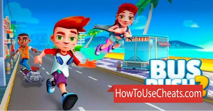 Bus Rush how to use Cheat Codes and Hack Coins