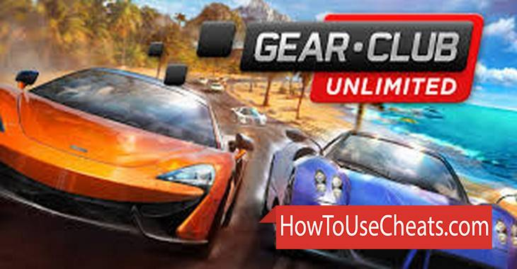 Gear.Club how to use Cheat Codes and Hack Money and Gold