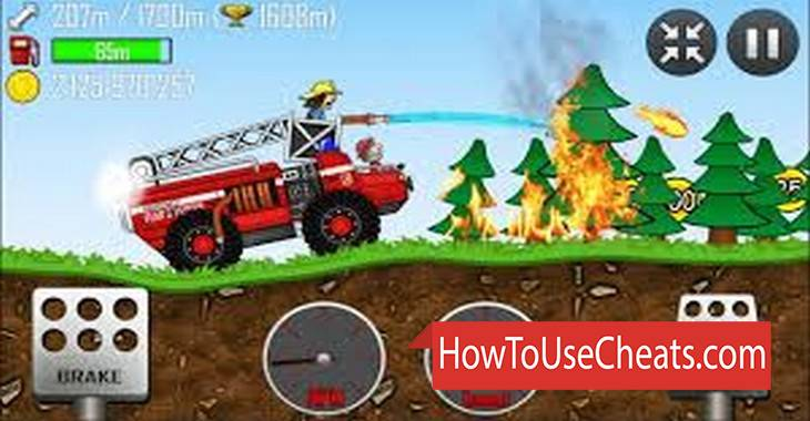 Hill Climb Racing how to use Cheat Codes and Hack Coins